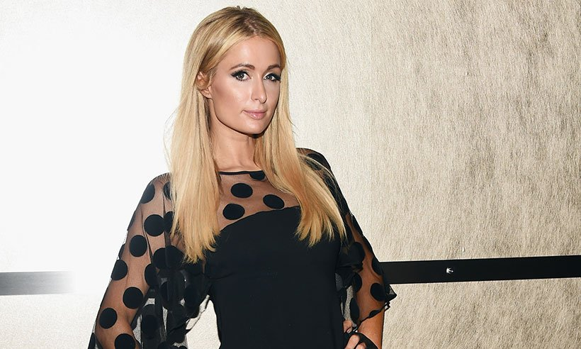 .@ParisHilton's boyfriend has got her name tattooed in his arm - in the @Disney font!