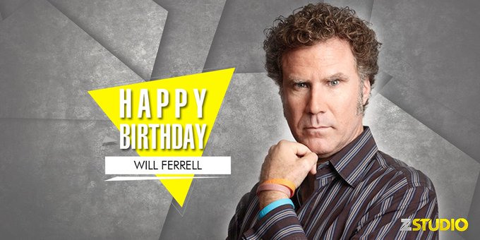Here s wishing the top cop , Will Ferrell, a very happy birthday! Send in your wishes!