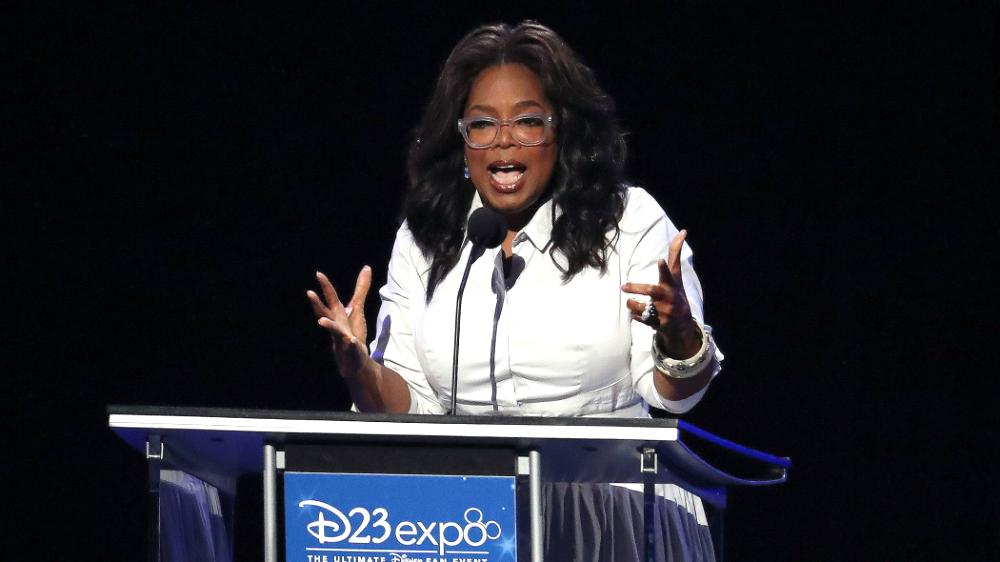"Oprah Winfrey at D23Expo: ""@Disney let me be me"""