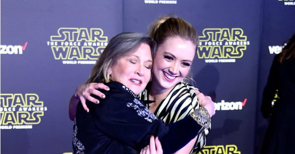 Billie Lourd wrote a touching speech for Carrie Fisher's Disney Legends award at D23: