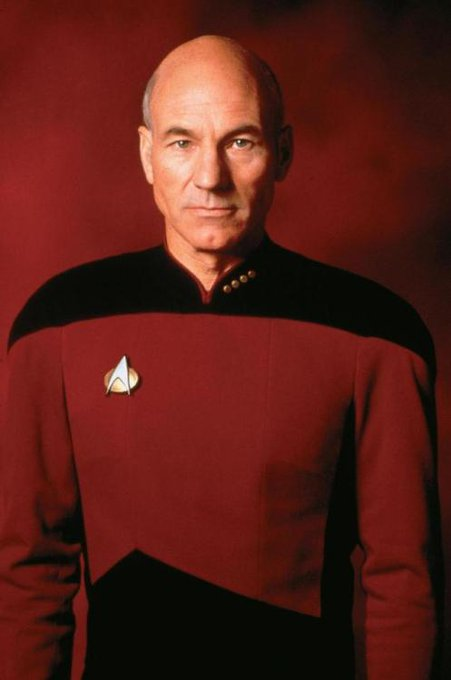 Happy Birthday to Sir Patrick Stewart, born on July 13, 1940 in Mirfield, England, Earth.