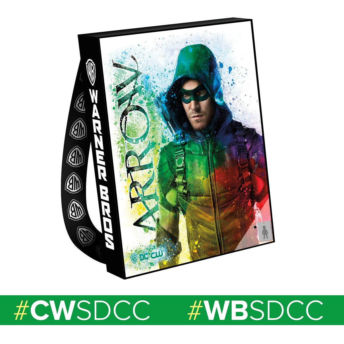 Heading to Comic-Con®? Make sure you look for the official #Arrow bag! #CWSDCC #WBSDCC https://t.co/TFMImgMRdt