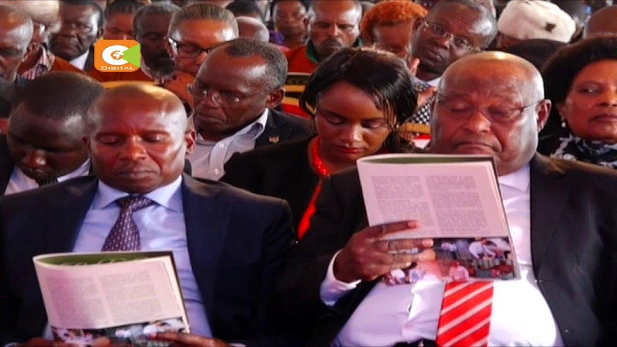 President Kenyatta warns funders of Laikipia violence