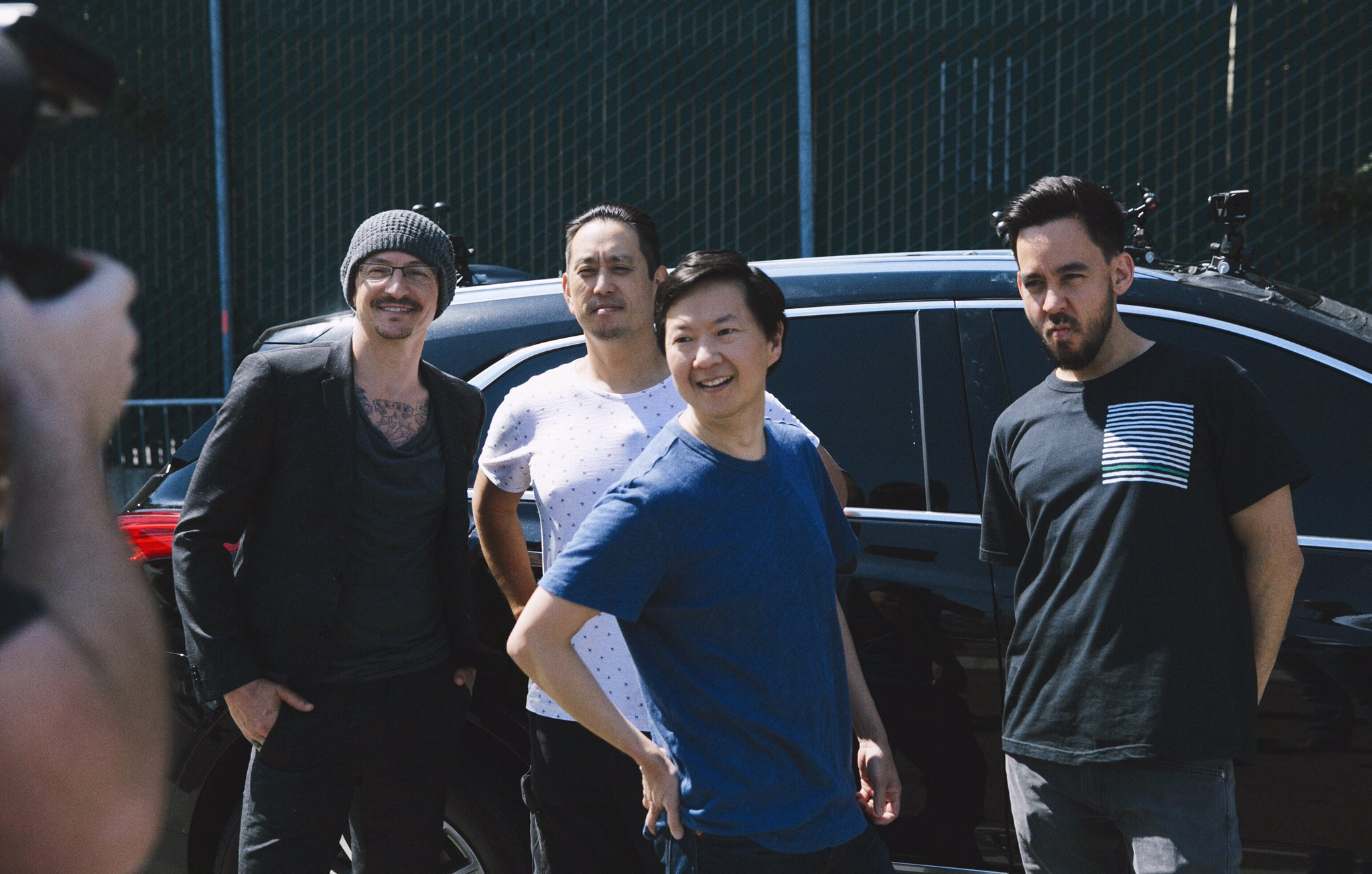 Fun day with @kenjeong @CarpoolKaraoke @AppleMusic - stay tuned. https://t.co/v8tSBG1cwF