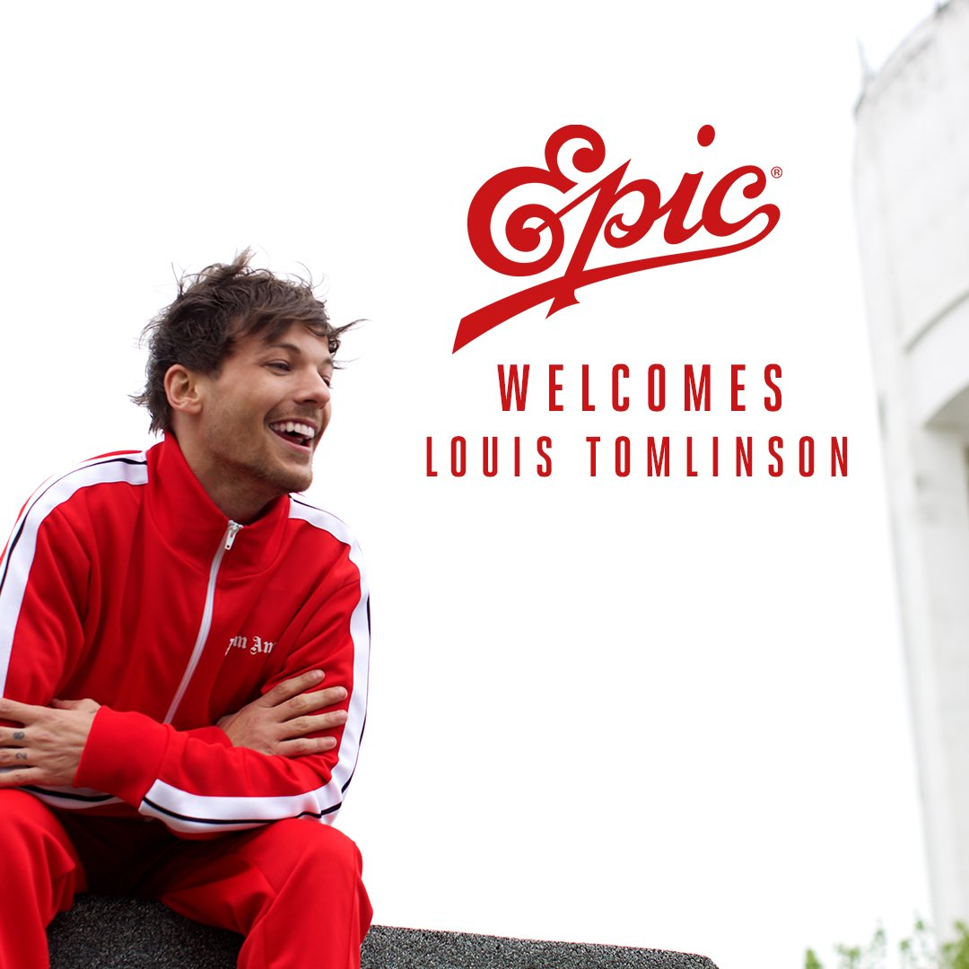 We're thrilled to welcome @Louis_Tomlinson to the Epic family! ���� https://t.co/SJR5IYAKlO