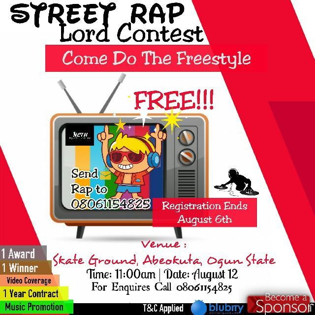 #NaibacFeed: #Street #Rap #Contest