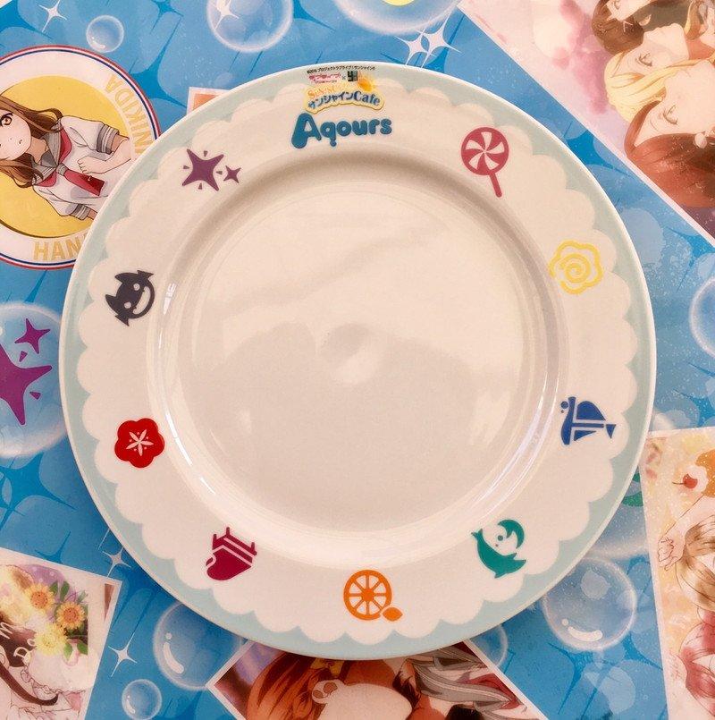 【沼津】「SUN!SUN!サンシャインCafe オリジナルテーブルウェア 27cm皿」発売のお知らせです。詳細はこちら→