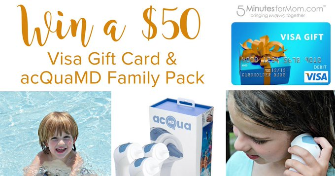#WIN an acQuaMD family pack + $50 Visa gift card [7/19]
