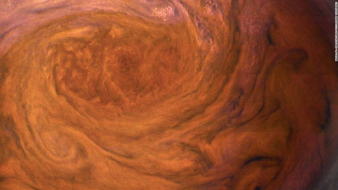 NASA has released photos of Jupiter that are clearer and closer than ever before
