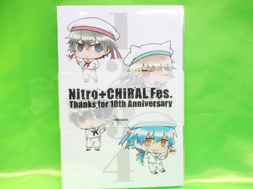 【ニトロプラスストア】「Nitro+CHiRAL Fes. ポストカードセットB 」が好評発売中です。皆様のご来店をお待