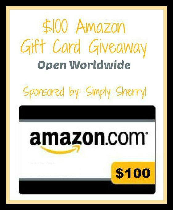 Win $100 on Amazon Giveaway
