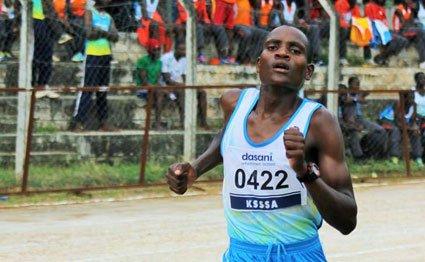 Dominic Samson bags bronze in race walk