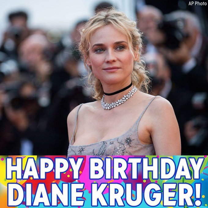 Happy Birthday to actress Diane Kruger!