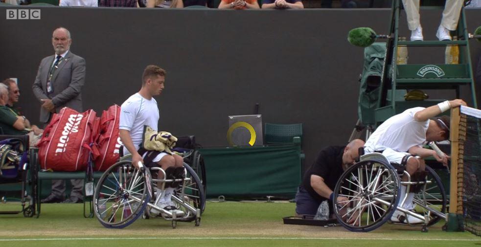 GB's Alfie Hewett & Gordon Reid in wheelchair doubles final  Watch on @BBCOne & online: https://t.co/jiUsK2EKJG https://t.co/ZhNq9dG3OJ