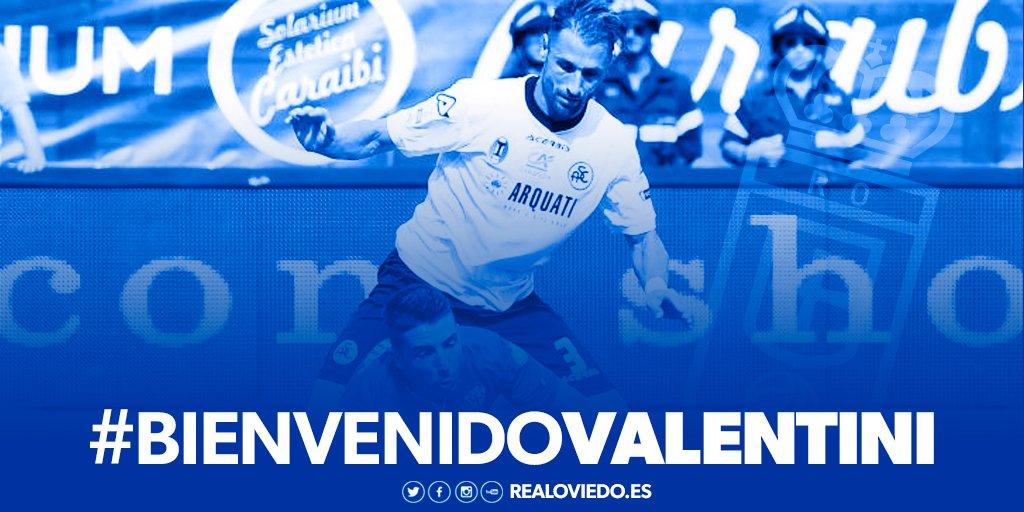 RT @RealOviedo: Nahuel Valentini, nuevo jugador del #RealOviedo https://t.co/bp8lCNll2l  #BienvenidoValentini https://t.co/On1zCCE7hZ