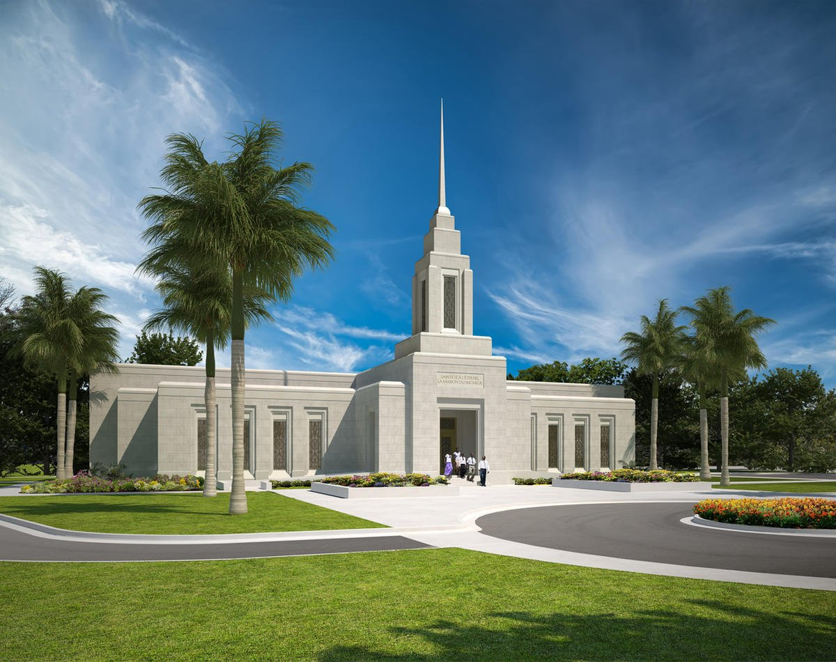 Groundbreaking announced for Haiti's first LDS temple