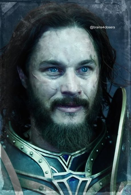 Happy birthday to the wonderful Travis Fimmel!  Really hope to see him again as Lothar in an eventual Warcraft 2...