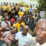 MP Kahonda's supporters camp at State House