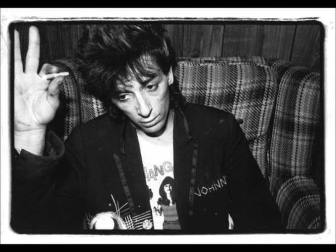 Happy Birthday Johnny Thunders 7/15/52 live on forever Thunders