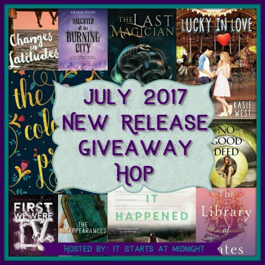 July 2017 New Release Giveaway Hop