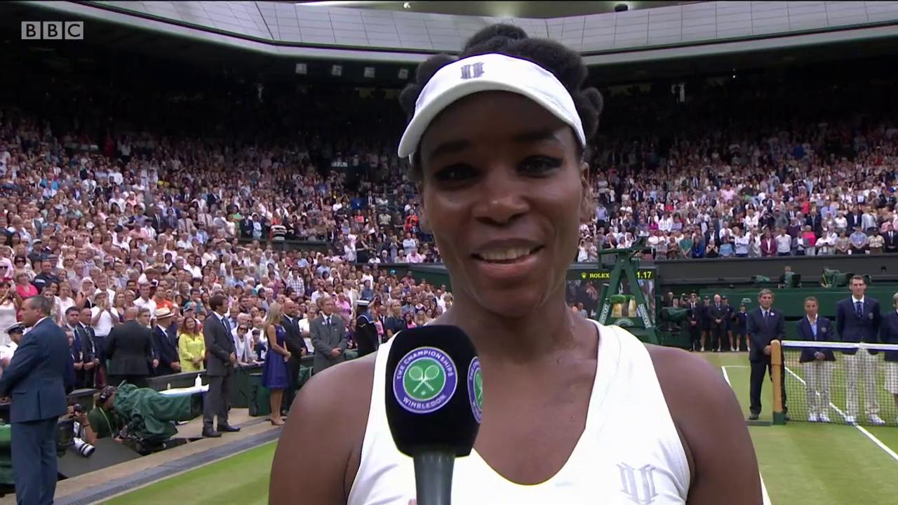 She'll be back ��  Venus Williams had a lovely message for her sister Serena #Wimbledon https://t.co/5qNQzaQED7
