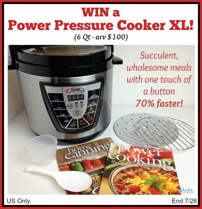 Win Power Pressure Cooker XL To Cook Like A PRO! #HeartThis #Giveaway