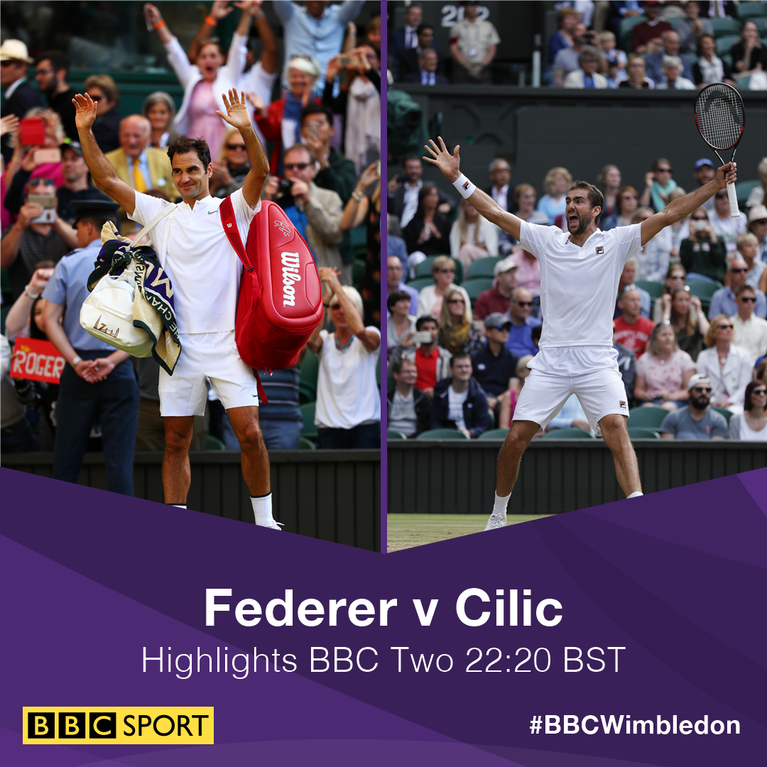 We're live on @BBCTwo for today's #Wimbledon highlights.  Join us: https://t.co/TlD0qJlcLc #bbctennis https://t.co/UOvQKI0aqG