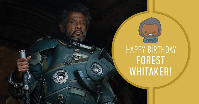 Happy Birthday, Forest Whitaker!