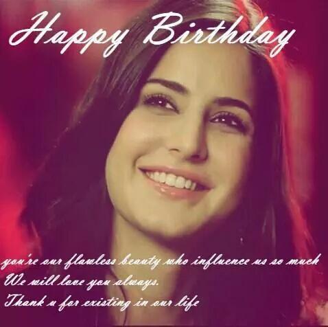 Happy Birthday Katrina Kaif  In advance