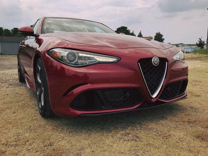 @BMWBlog: Testing the Alfa Romeo Giulia Quqdrifoglio. Let's see how it stays against the M3 https://t.co/kGxBXhqWCU
