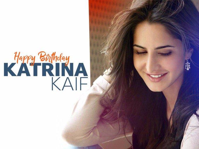 Happy Birthday Katrina Kaif. May you have a glamorous year ahead.
