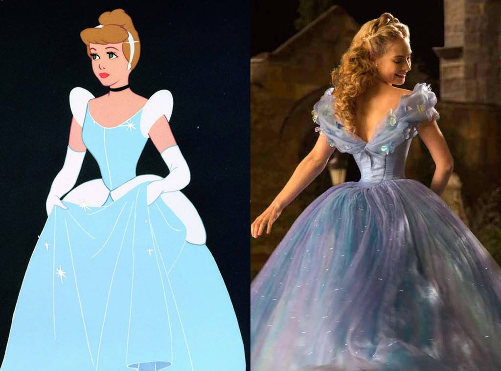 A look back at Disney's transformations from animated to live-action: