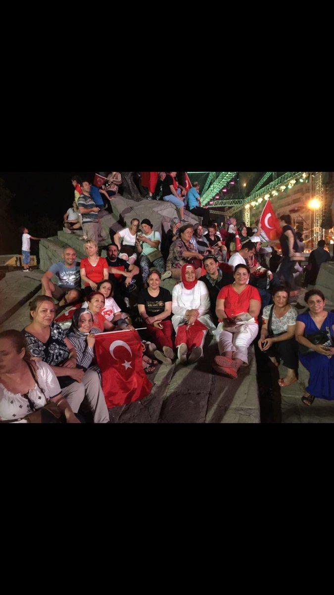 RT @DUDUAHN1: #Nöbetteyiz Antalya olarak 15 Temmuz'un 1.yılında demokrasi nöbetimizi tutuyoruz. https://t.co/RU3b5M0sJU