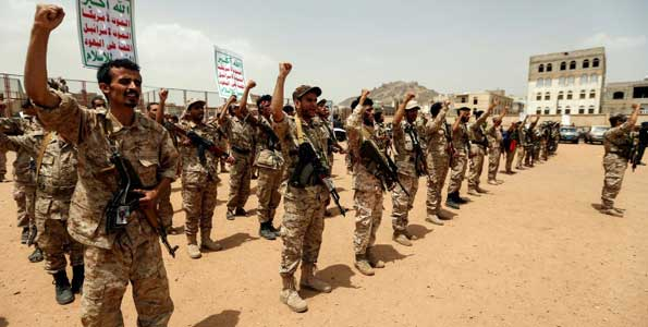 Clashes near Yemen's Mokha kill 40 troops, rebels
