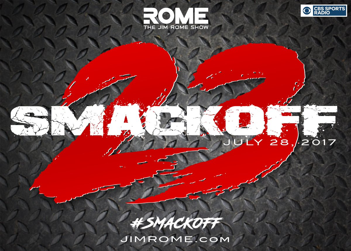 The #Smackoff starts at 12p ET / 9a PT.STATIONSSTREAM