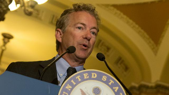 Rand Paul blocks McConnell from setting up defense bill vote
