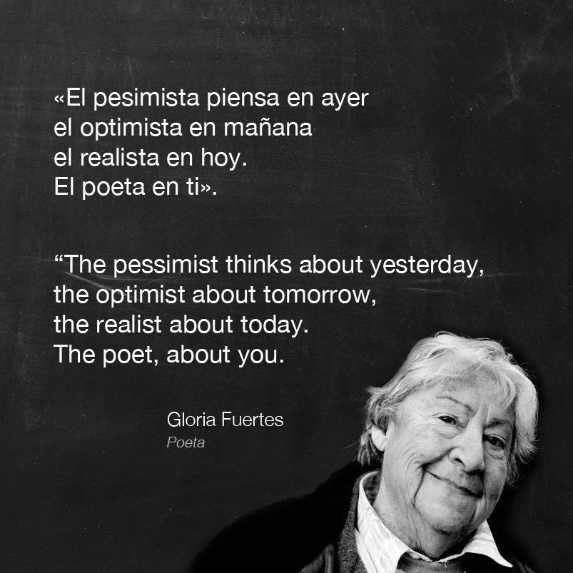 test Twitter Media - Nos llevó de la mano a la #poesía. Gracias #GloriaFuertes.  She led us towards #poetry. #GloriaFuertes100 #Gloriacumpleaños https://t.co/ZPkQlZTrcx