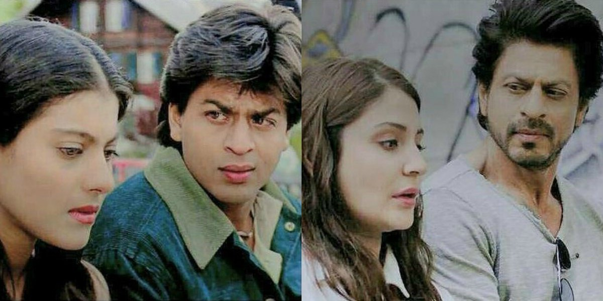 From 'Simran' to 'Sejal', @iamsrk's romance never dies!😍