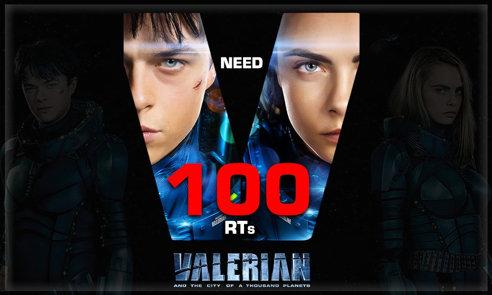 Some more hurdles! RT & get closer! #ValerianWithMN