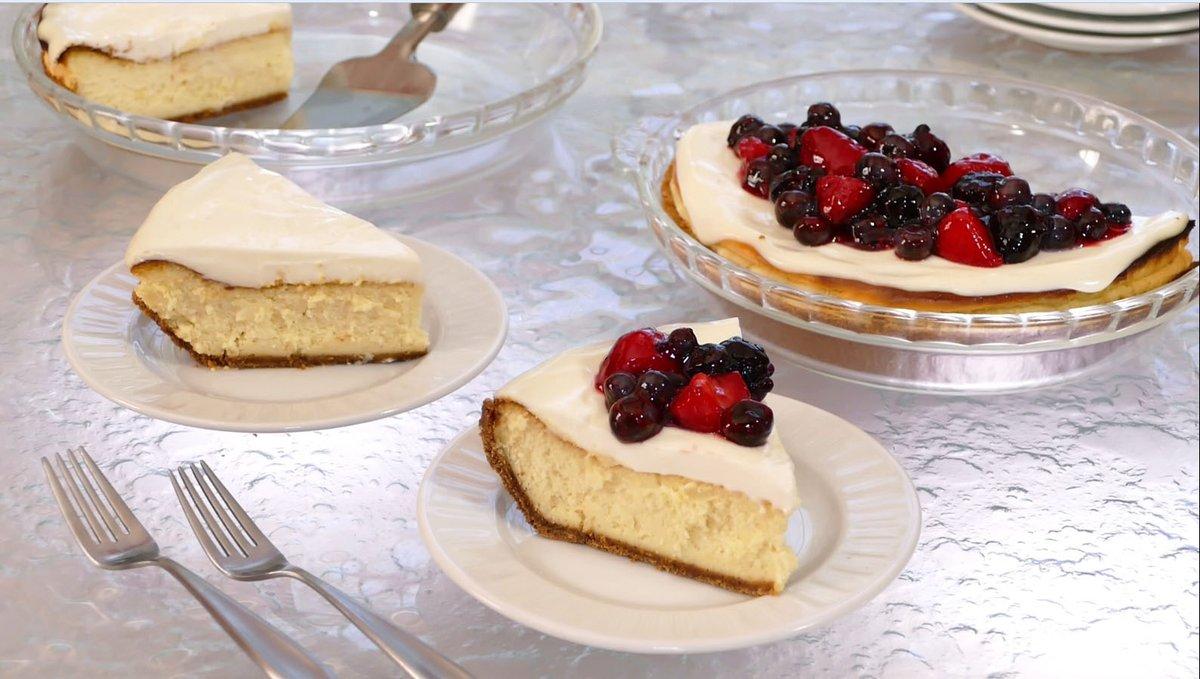 Simple cheesecake is simply a tasty treasure