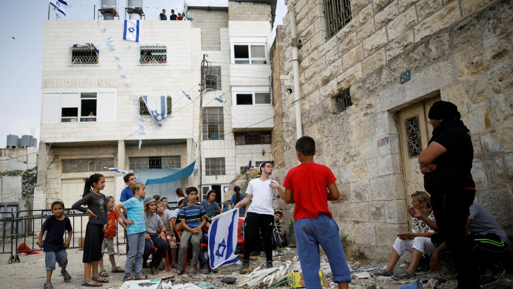Around 100 Israeli settlers forcibly took over a Palestinian home in Hebron