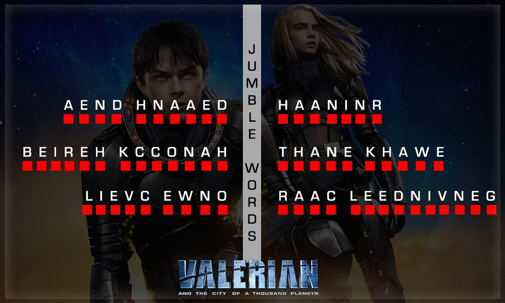 This activity is an alien attack! Can you answer & dodge them? #ValerianWithMN