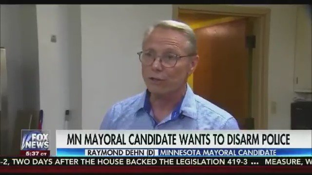 Minneapolis mayoral candidate proposes disarming police officers to increase community safety