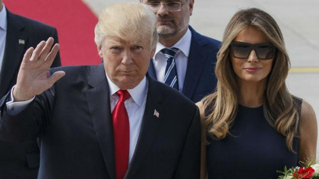 "WSJ columnist ""Weak and sniveling"" Trump is not as strong as his wife"