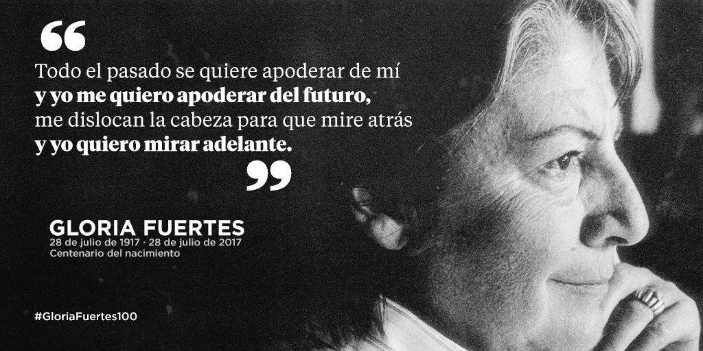 💜 Eterna la vida y obra de Gloria Fuertes 📚 #GloriaFuertes100