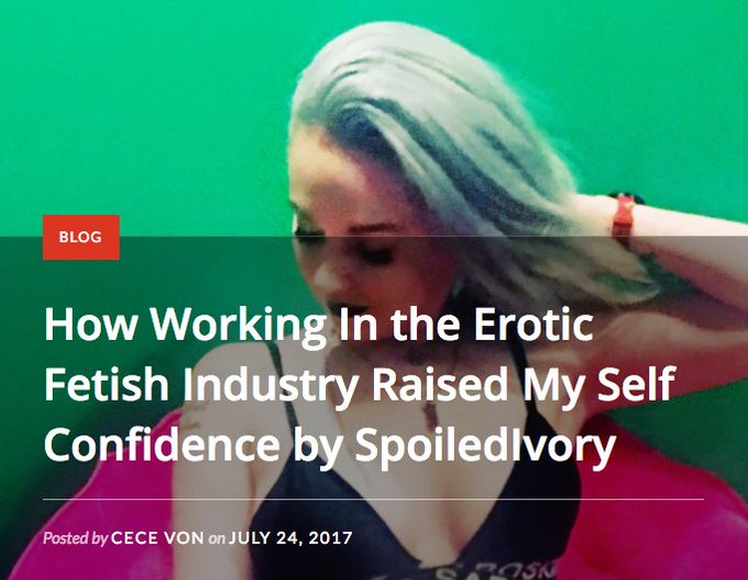 NEW BLOG: The #adultindustry (https://t.co/FozApc0Q9l) is full of strong, confident women making money