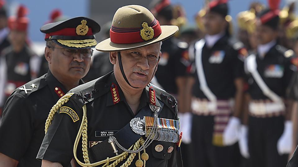 Amid rising Indo-Pak hostilities, army chief visits forward areas in Jammu