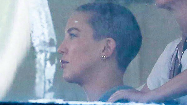 The buzz around Hollywood? Kate Hudson's new look for a mysterious project with Sia.