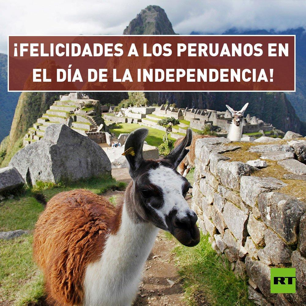 🇵🇪¡Feliz Día de la Independencia a todos los peruanos!