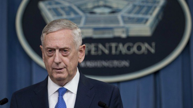 Mattis infuriated by Trump tweets announcing transgender ban report